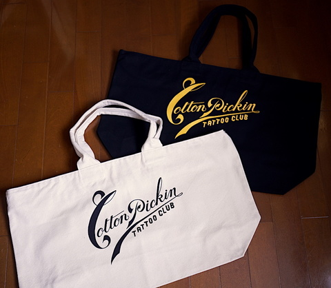 "CP ""TATTOO CLUB"" Zip tote bag"