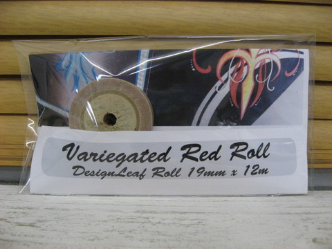 VARIEGATED ROLL RED LEAF