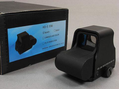HD-5 556 BLACK ダットサイト
