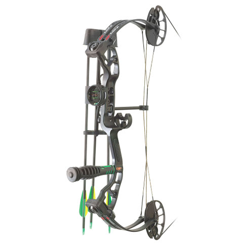 PSE Mini Burner RTS Package Right Hand 26in 40# Black