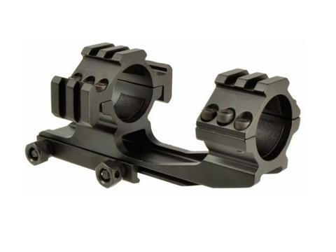 3方向拡張レイル付ワンピース30mmスコープマウントリング