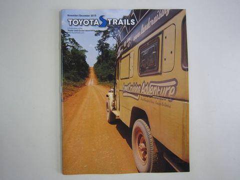 TOYOTA TRAILS 2015/11・12 バックナンバー 新品