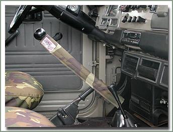 スペクター 40用シフトレバーパット 迷彩色