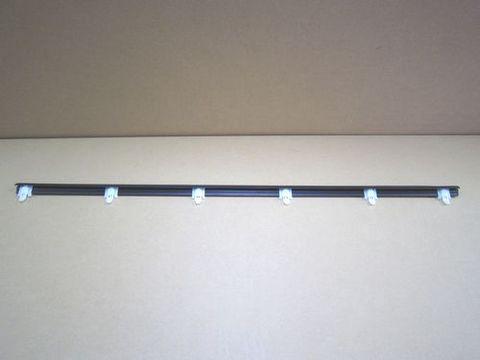 ランクル60フロント左ドア 水切りアウターゴム 純正 新品