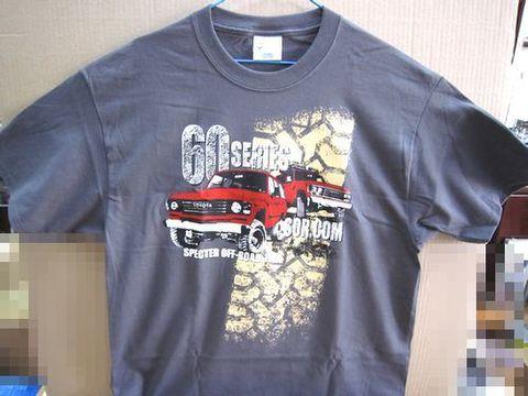 ランクル60 スペクター新Tシャツ XLサイズ 新品