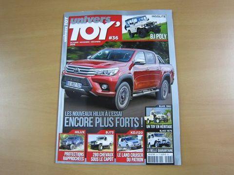 フランス4x4雑誌 univers TOY #36 新品