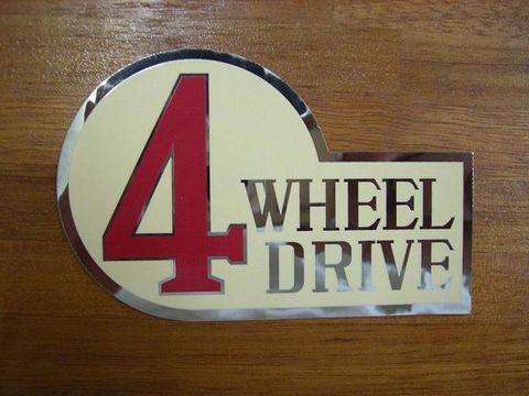 スペクター 4WD ステッカー