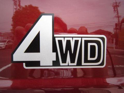 ランクル 4WDステッカー 純正 新品
