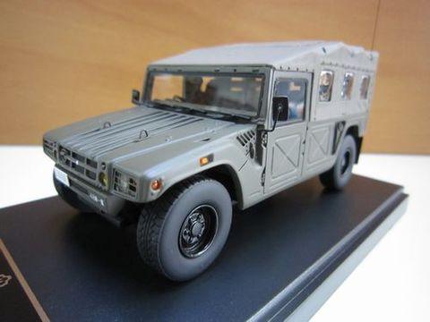 自衛隊 高機動車 第48普通科連隊 相馬原駐屯地 1/43 新品