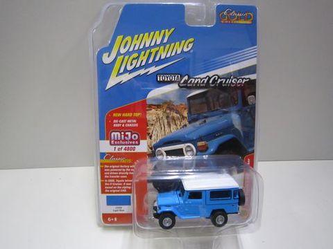 ランクル40バン ライトブルー ジョニーライトニング 新品