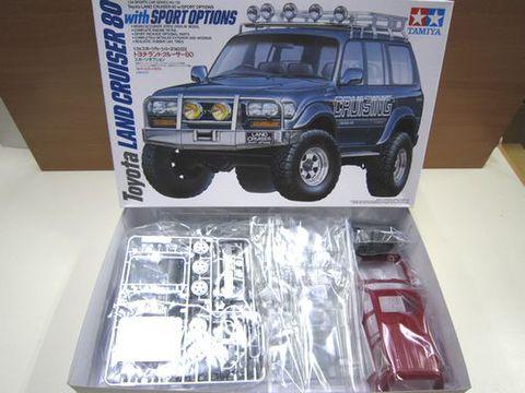 タミヤ ランクル80 スポーツオプション プラモデル 1/24 新品