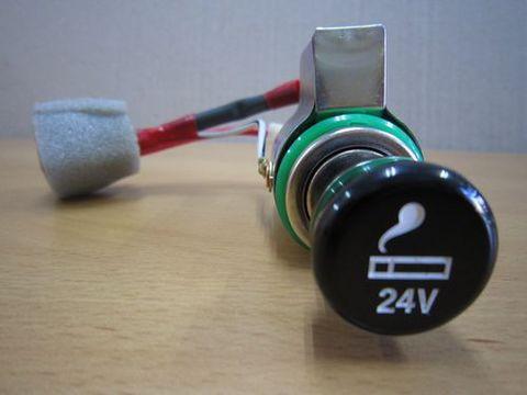 照明付きシガーライター24V 純正 新品