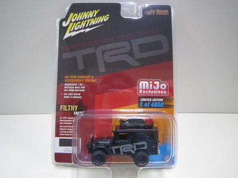 ランクル40バン TRD 黒 ジョニーライトニング 新品