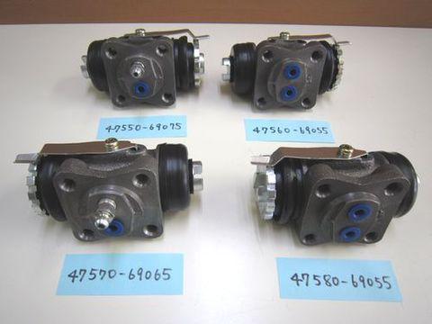 ランクル40 リアブレーキホイルシリンダー4個セット ディスク/ドラム用 社外 新品