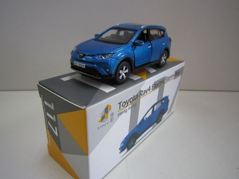RAV4 ブルー 右ハンドル タイニー