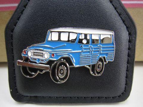 ランクル45LV ブルー キーホルダー 新品