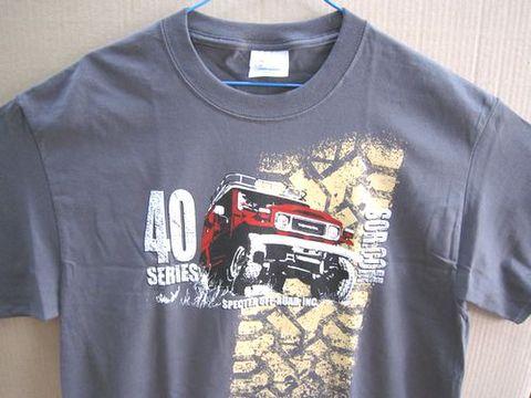 ランクル40 スペクター新Tシャツ XLサイズ 新品