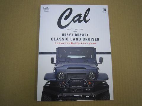 Cal vol.26  2019年 03 月号  グッズプレス  増刊  新品