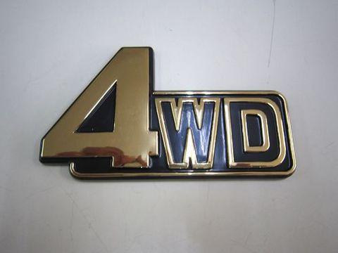 ランクル60 4WDゴールドエンブレム 社外品 新品