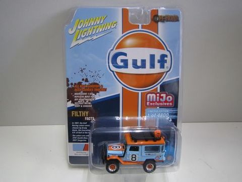 ランクル40バン Gulf オフロード ジョニーライトニング 新品