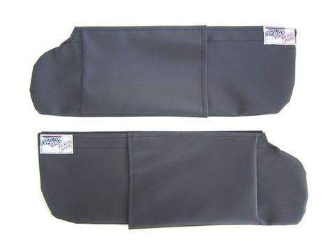 ランクル40 サンバイザーカバー黒 左右セット スペクターオリジナル品 新品