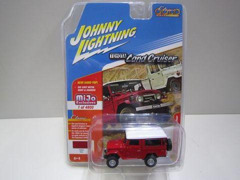 ランクル40バン 赤 ジョニーライトニング 新品