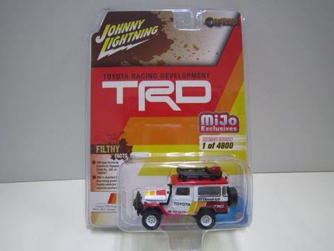 ランクル40バン TRD 白/赤 ジョニーライトニング 新品