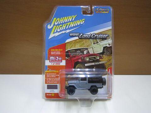 ランクル40幌 グレー/黒 ジョニーライトニング 新品