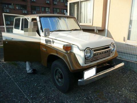 FJ56V 昭和53年10月初年度登録 委託販売車