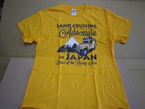 クーンさんプロデュース Tシャツ やまぶき色 新品