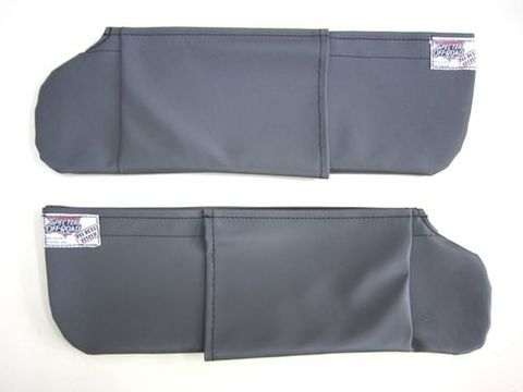 ランクル40 サンバイザーカバーグレー 左右セット スペクターオリジナル品 新品