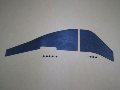 ランクル60系 フロントタイヤハウス内たれゴム 純正 新品