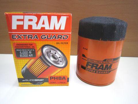 アメリカ FRAM製 オイルエレメント PH8A F/Bエンジン用