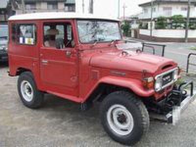 BJ41バン 昭和55年式 赤