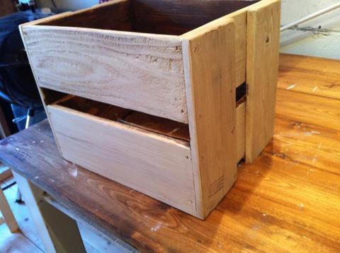 シャビー、アンティーク、木箱