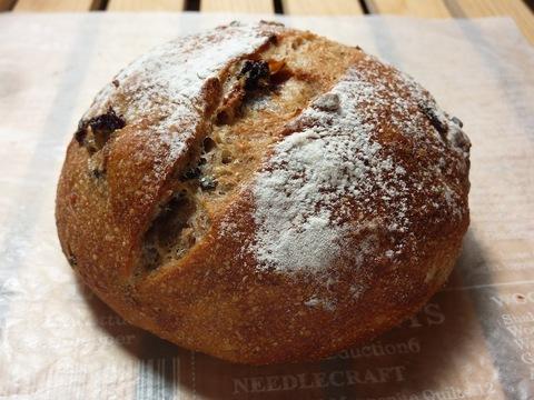 17.レーズン&ワイルドライスとライ麦の丸粒入りパン(2個入)【 冷凍パン生地 】