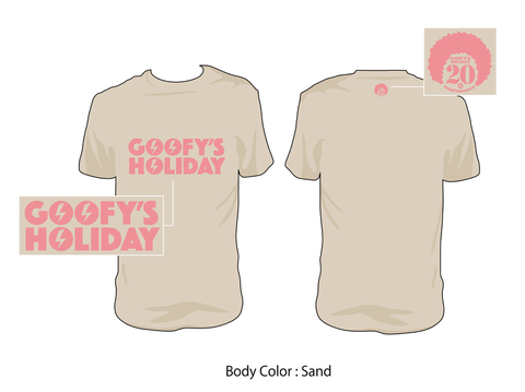GOOFY'S HOLIDAY/20th Tee(Sand)