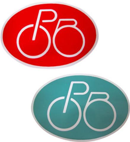 自転車管理シール(100枚)