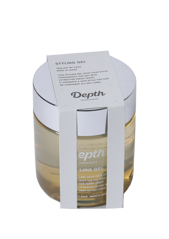 たっぷり容量。大人気おしゃれジェル[ハードジェル(中世ヨーロッパの香水の香り](Depth/スタイリングジェル/ 280g )