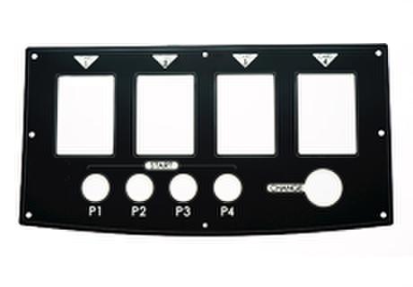 DX用コントロールパネルステッカー