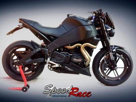 Speed Race Italy製buell XB用 ステンレススチール 溶接 ヘッダース