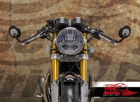 Freespirits Triumph Thruxton R/Speed Triple1050用 クリップオンセパレートハンドル52/54mm
