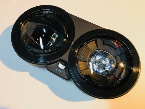 Buell XB Lightning系ドイツHBL製 LEDヘッドライトキット(ブラック)