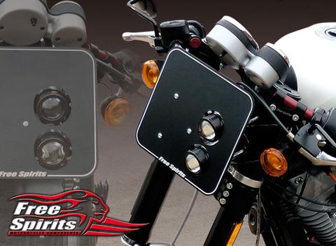 "Freespirits Harley XR 1200 ""X"" 用ヘッドライトマスク [cod. 208923]"