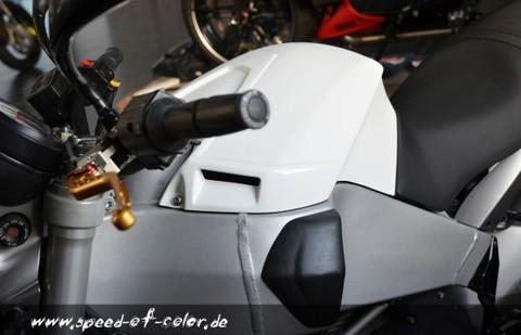 Buell XB用SOC製エアクリーナーボックスカバーR/Tスタイル