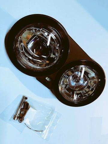 Buell XB Lightning系ドイツHBL製 LEDヘッドライトキット(クローム)