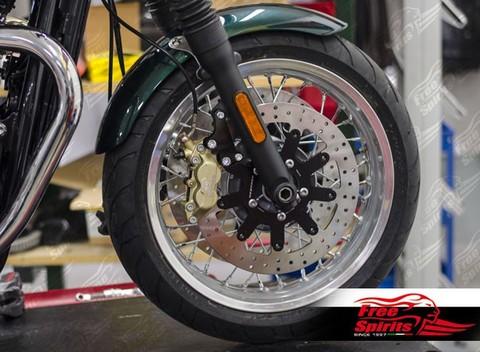 Code: 303825 Freespirits ブレーキアップグレードキット Triumph Thruxton1200 Standard用