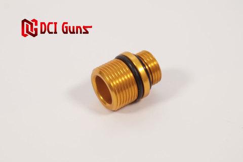 M11正ネジ-M14逆ネジ変換アダプター GOLD
