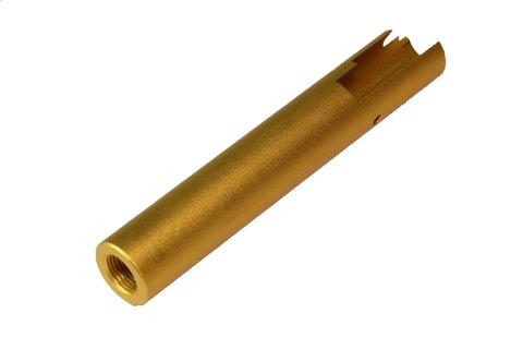 11mm正ネジメタルアウターバレル マルイ ハイキャパ4.3/FW/DW4.3用GOLD ゴールド 金