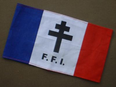 WW2自由フランス軍★アームバンド★腕章
